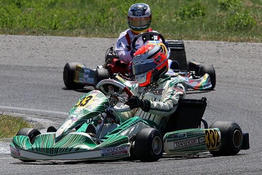 Bruno Vale triunfa na segunda prova da categoria Super ROK Portugal