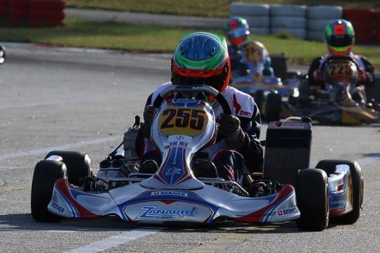 Andriy Pits venceu as duas corridas de qualificação da categoria X30 Sénior