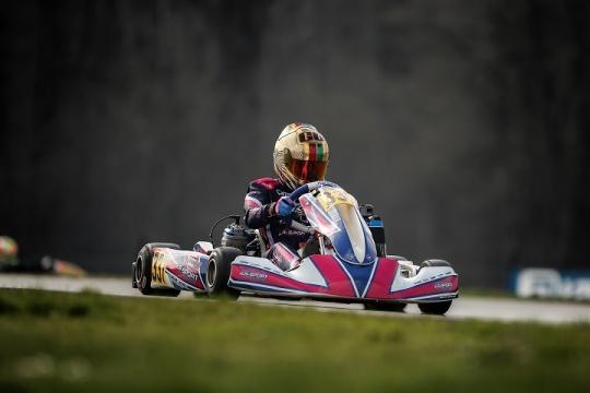 Guilherme de Oliveira 20.º mais rápido entre 79 pilotos no Europeu Iame na Bélgica