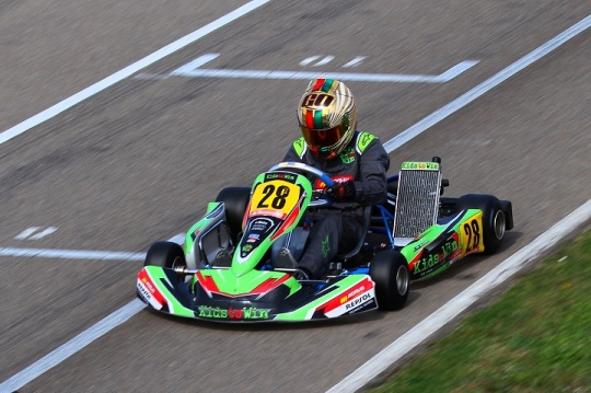CEK 2: Guilherme de Oliveira 8º na Júnior… com a volta mais rápida do evento