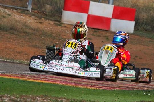 Guilherme de Oliveira sagra-se campeão Júnior nas Series Rotax Espanha 2018
