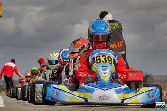 Henrique Baptista 4º nos cronos do Euro Rotax Max Challenge 2015