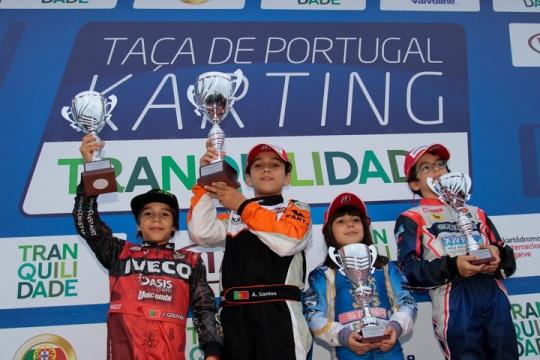 António Santos conquista Taça de Portugal de Karting na categoria Cadete