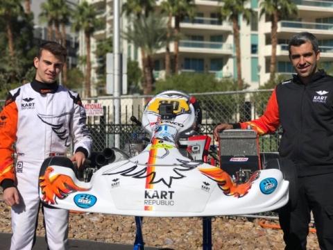 Yohan Sousa garante sensacional 11º lugar na mítica SKUSA em Las Vegas