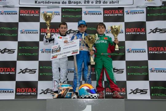 Adrián Malheiro campeão ibérico Mini-Max… José Barros triunfa em Braga