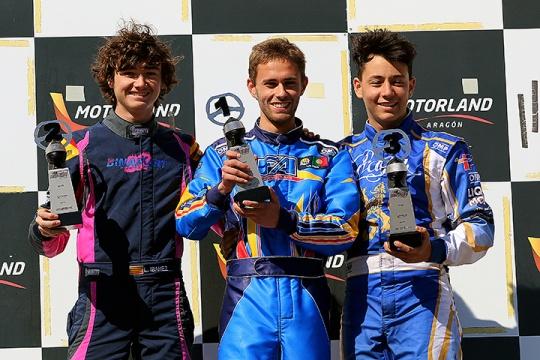 Series Rotax Sénior Max: Luís Cidade regressa às vitórias no circuito de Alcañiz