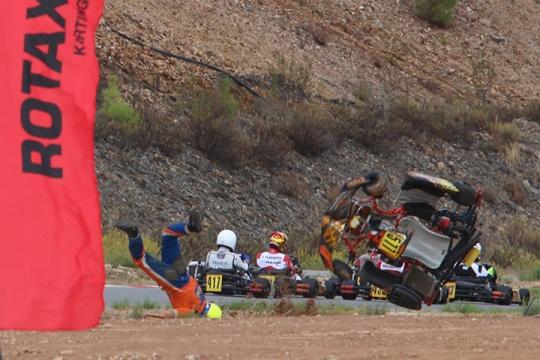 Leonardo Nienkotter em aparatoso acidente… mas sem consequências de maior