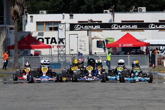 Leitão, Moura, Borlido, Pires, Caçoilo e Malheiro vencem para o Troféu Rotax