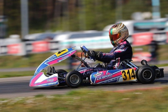 Guilherme de Oliveira surpreende no Open do Europeu Rotax Sénior na Bélgica