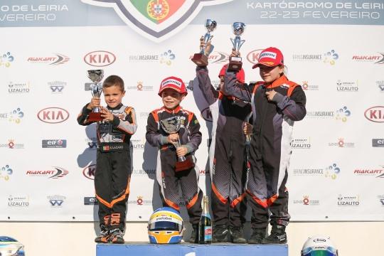 Francisco Correia vence Open de Portugal de Karting na categoria Iniciação