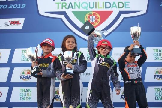 Guilherme Morgado conquista Taça de Portugal de Karting na categoria Iniciação