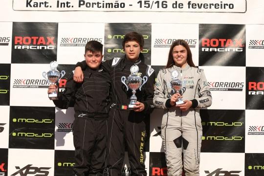 Duarte Pinto Coelho vence segundo dia do Troféu Rotax Júnior em Portimão