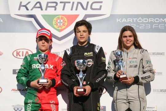 Duarte Pinto Coelho triunfa no Open de Portugal de Karting na categoria Júnior