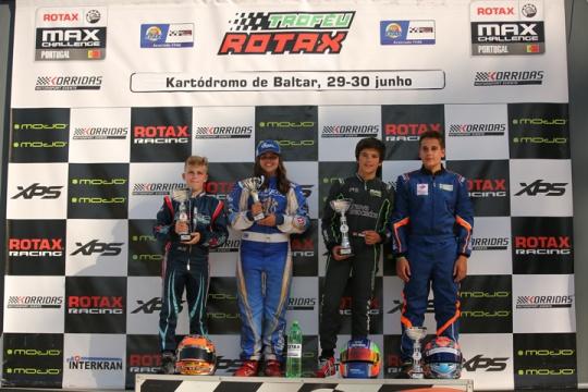 Duarte Pinto Coelho estreia-se a vencer no Troféu Rotax Júnior em Baltar