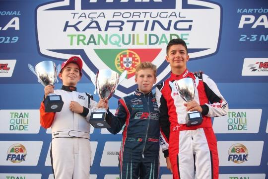 Ivan Domingues coleciona segunda Taça de Portugal de Karting na categoria Júnior