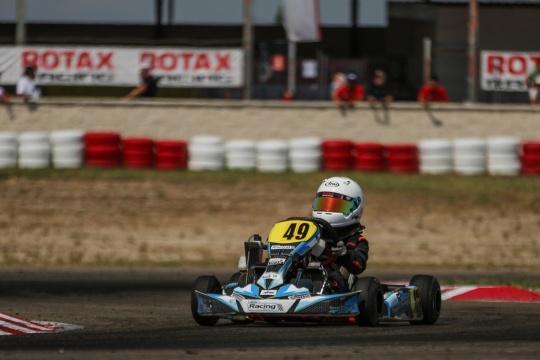 João Pereira 7.º e David Luís 9.º na Copa Rotax Academy