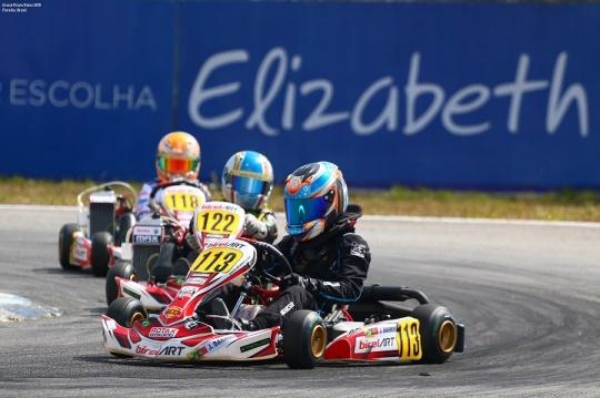 José Barros vai partir da 13º posição na Pré-Final do Mundial Rotax Mini-Max
