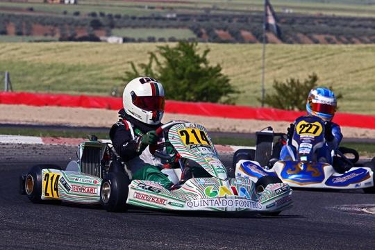 Guilherme de Oliveira fecha top-5 nas Series Rotax Espanha da categoria Júnior