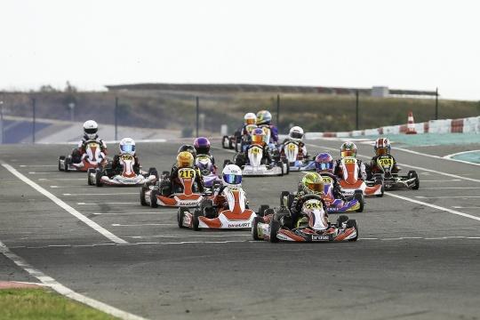 Noah Monteiro soma mais uma vitória no Campeonato de Portugal de Karting Juvenil