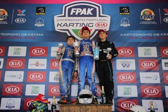 Adrián Malheiro ganha em Fátima e é mais líder no CPK KIA da categoria Juvenil