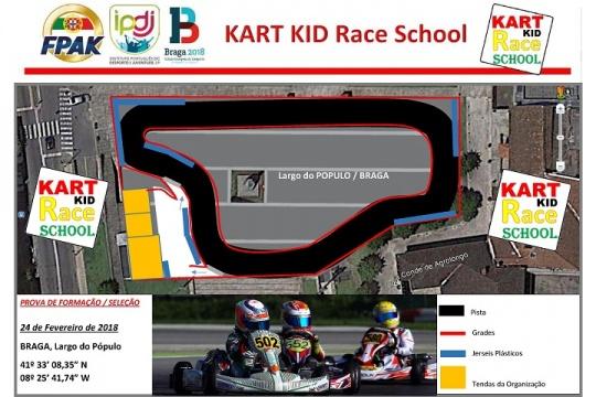 Primeira fase de seleção da Kart Kid Race School é já no próximo sábado em Braga