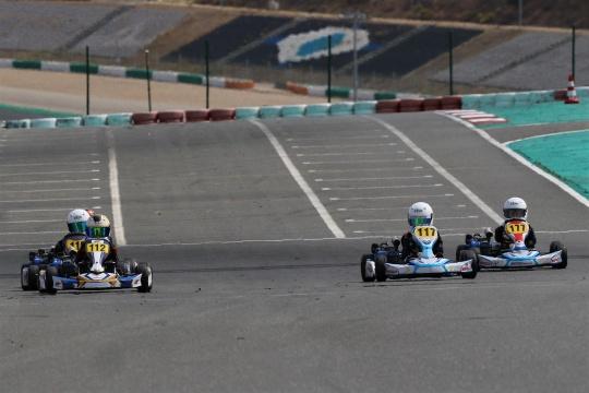 Guilherme Morgado triunfa no Campeonato de Portugal de Karting Cadete 4T