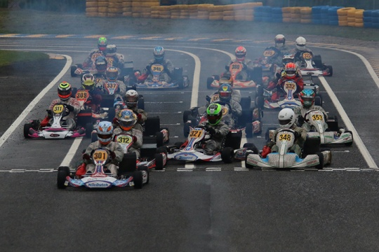 Taça de Portugal com primeiro dia à chuva... mas animada no Kartódromo de Leiria