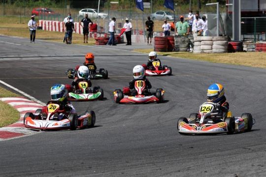 Xavier Lázaro domina 2.ª prova do Campeonato de Portugal de Karting da Iniciação