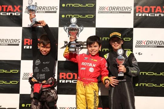 Christian Costoya garante novo triunfo no Troféu Rotax Micro-Max em Portimão