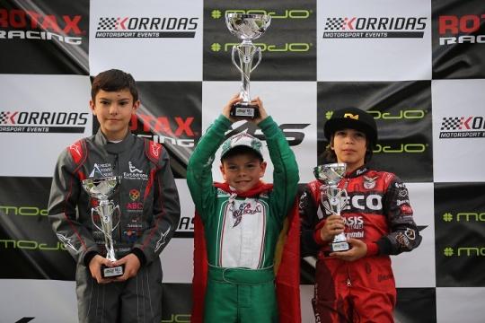 Christian Costoya triunfa no Troféu Rotax da categoria Micro-Max em Palmela