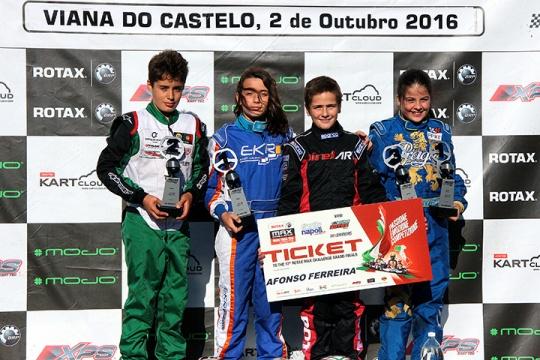Rúben Silva campeão na categoria Mini-Max do RMCP… Afonso Ferreira no 'Mundial'