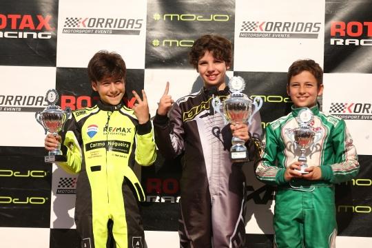 Rodrigo Vilaça coleciona mais uma vitória no Troféu Rotax Mini-Max em Portimão