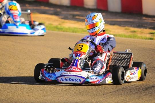 Henrique Chaves vice-campeão em Espanha na Sénior-KZ2 e Rui Carneiro no top-6