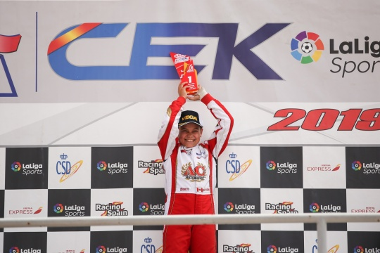 CEK Campillos: Adrián Malheiro vence Corrida 1 da categoria Cadete