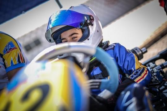 CEK Valência: Maria Germano Neto vai largar do 4.º lugar na Corrida 1 da Alevín