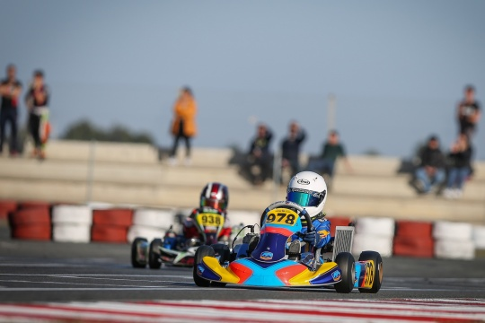Maria Germano Neto a 0,153s da 'pole-position' na Iame Winter Cup 2020 da X30 Mini