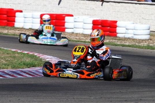Mariano Pires reforça comando na categoria DD2 das Series Rotax Espanha