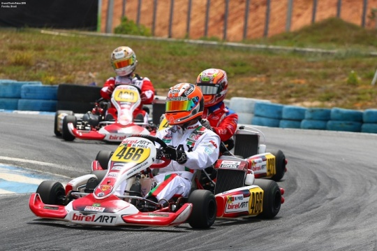 Mariano Pires 25.º classificado na Final do Mundial Rotax da categoria DD2