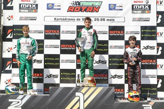 Guilherme de Oliveira mais líder no Troféu Rotax Sénior após Viana do Castelo