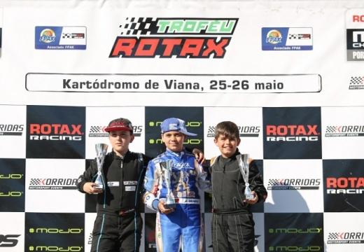 Adrián Malheiro está a dominar o Troféu Rotax da Mini-Max em Viana do Castelo
