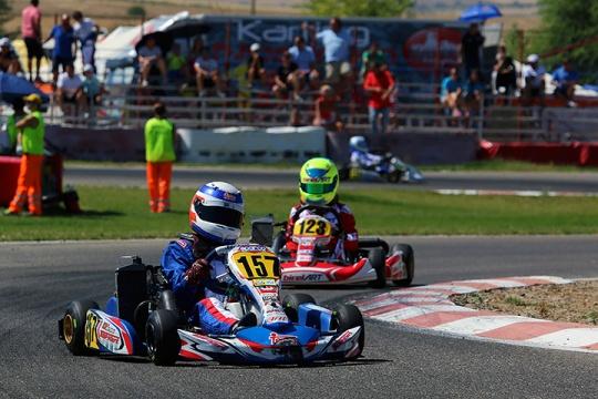 Frederico Peters garante um excelente 9º lugar na categoria Mini-Max em Espanha