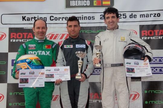 Pereira triunfa na Master e Oliveira garante 2.ª posição no Troféu Ibérico Rotax