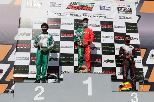 Guilherme de Oliveira triunfa na categoria Sénior Max do Troféu Rotax em Braga