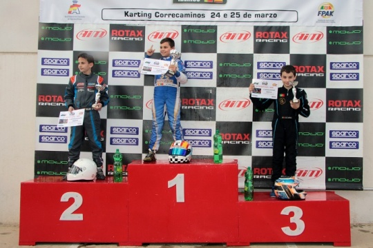 Malheiro vence no Troféu Ibérico Rotax Mini-Max… Barros foi 3.º e Oliveira 5.º