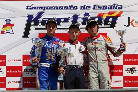 Andriy Pits imbatível em Portimão para o Campeonato de Espanha de Karting Sénior