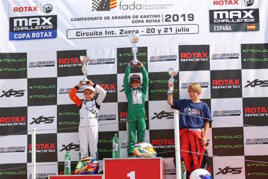 Noah Monteiro garante 2.º lugar na Final 2 na Copa Rotax Micro-Max