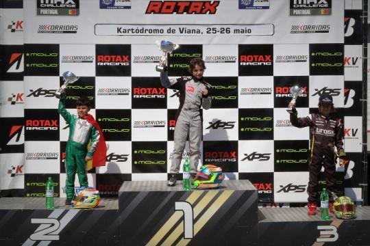 Rodrigo Vilaça vence no Troféu Rotax da categoria Micro-Max em Viana do Castelo
