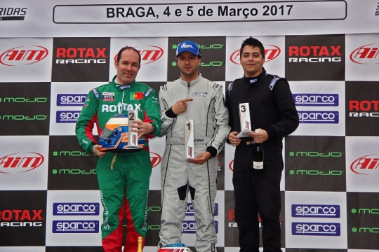 RMC Portugal 1: Vítor Mendes vitorioso em Braga na categoria DD2 Master