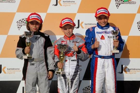 Ivan Domingues vence primeira prova do Campeonato Nacional Juvenil