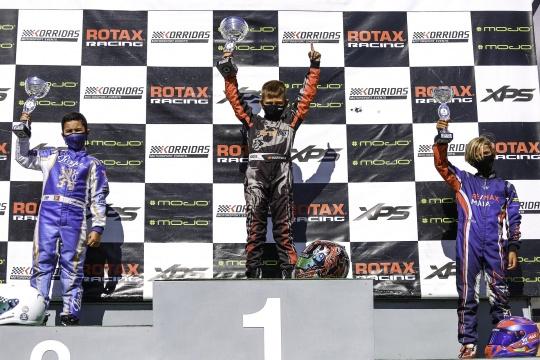 Martim Marques soma duas vitórias e mantém comando no Troféu Rotax Micro-Max
